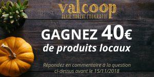 Gagnez 40€ de produits locaux !