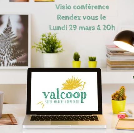 Vision conférence, rendez-vous le lundi 29 mars 2021 à 20h