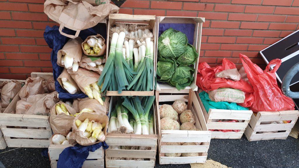 cagettes de legumes