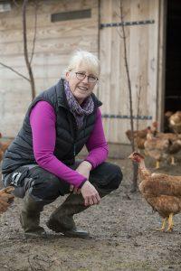 Sophie Besnard éléveuse de volailles à Mandres les Roses