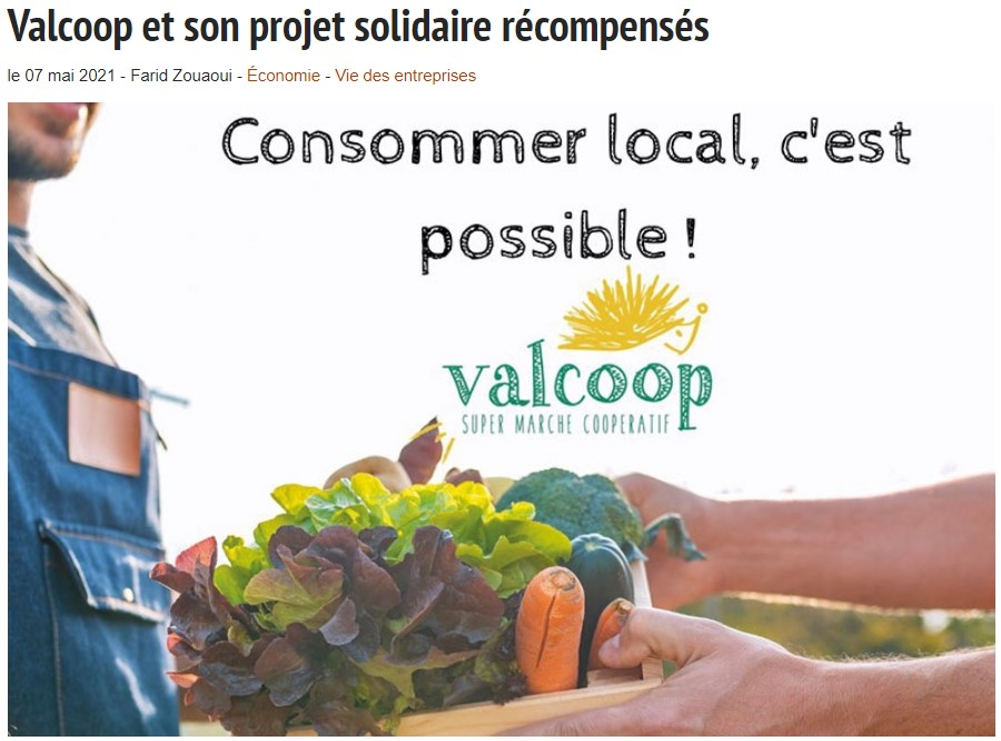 Consommer local, c'est possible ! Valcoop